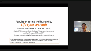 The 5th APDA Global Young Leaders Course,Population aging and low fertility