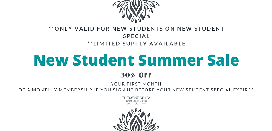 Copy of Copy of New Student Summer Sale.