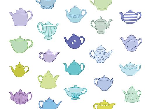 teapot drawing