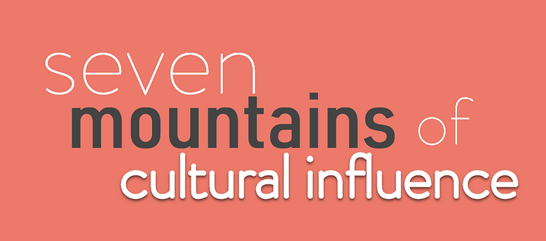 seven mountains of cultural influence ba