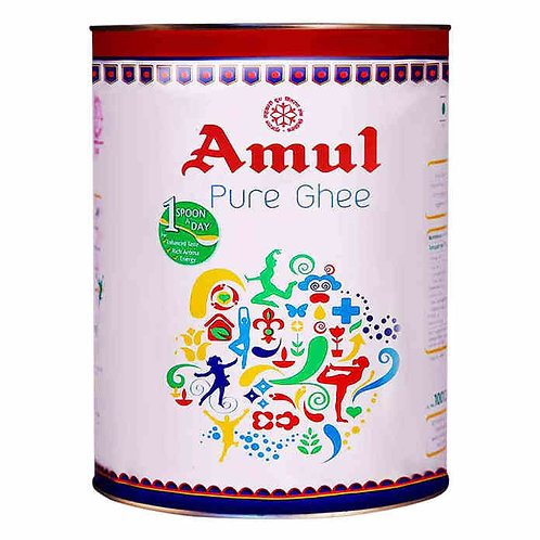 Amul Pure Ghee Tin : 5 Litres