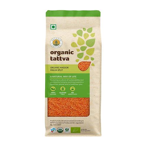 Organic Tattva Masoor Malka Split : 500 gms