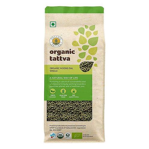 Organic Tattva Moong Dal Whole : 500 gms