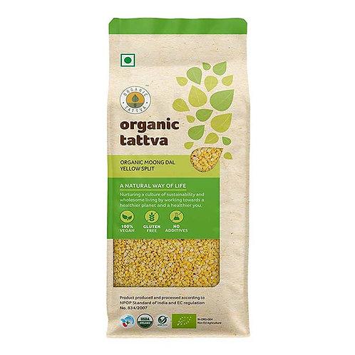 Organic Tattva Moong Dal Yellow Split : 1 kg