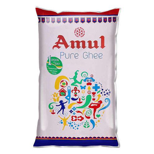 Amul Pure Ghee Pouch : 1 Litre