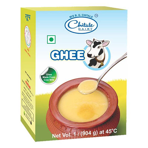 Chitale Dairy Cow Ghee Box : 1 Litre