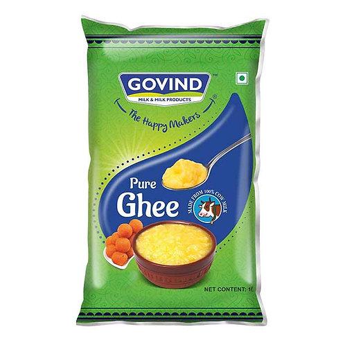 Govind Pure Ghee Pouch : 1 Litre