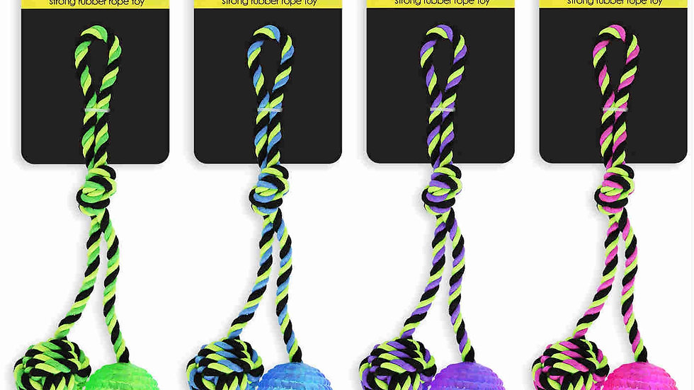 Strong Rubber Rope Toy