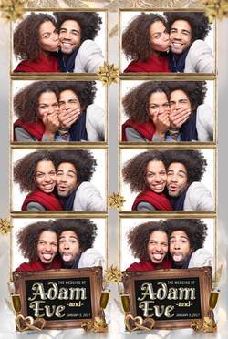 WedStrip2 - Royal Wedding - 4 Photo Strip