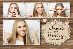 WedPos5 - Bouquet Beauty - 1 Photo Postcard