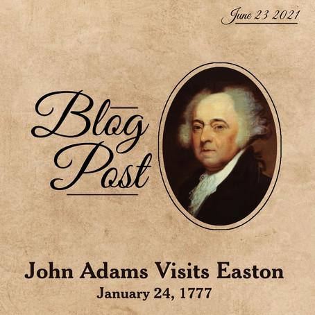 John Adams Visits Easton and the German Reformed Church, January 24, 1777