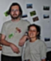 Martha Vanegas & Erwan Sachet voluntarios en Serraniagua