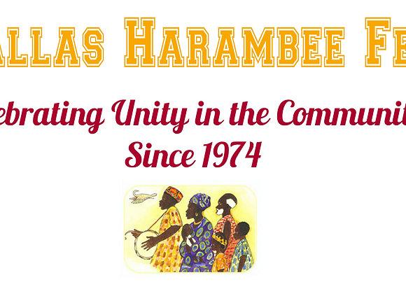 Harambee Festival $1000 Sponsorship