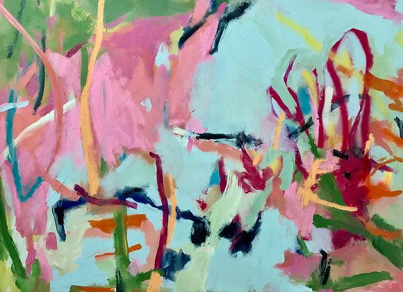 "Mar Caribe 20 x 20"" Fine Art Giclee Print"