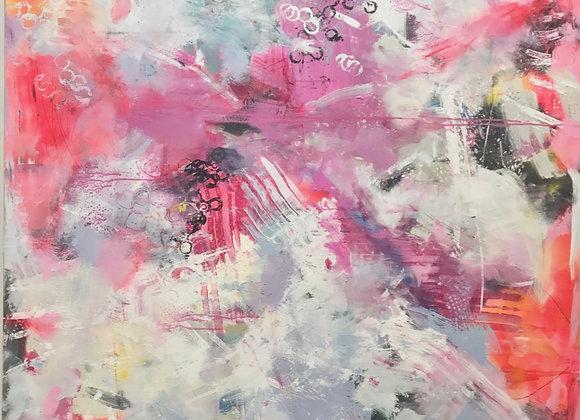 """Jewels in the Sky 30"""" x 30"""" Fine Art Giclee Print"""