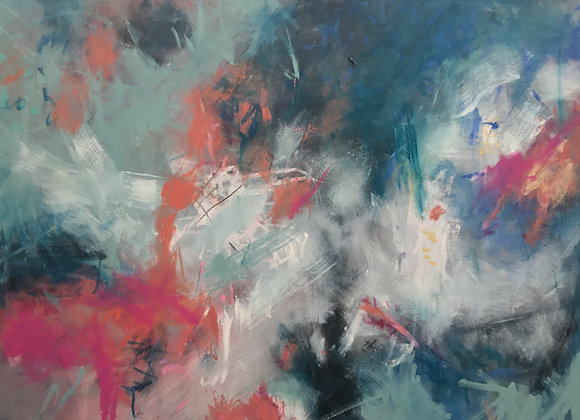 "Enjoying the Pause, 24x30"" Fine Art Giclee Print"