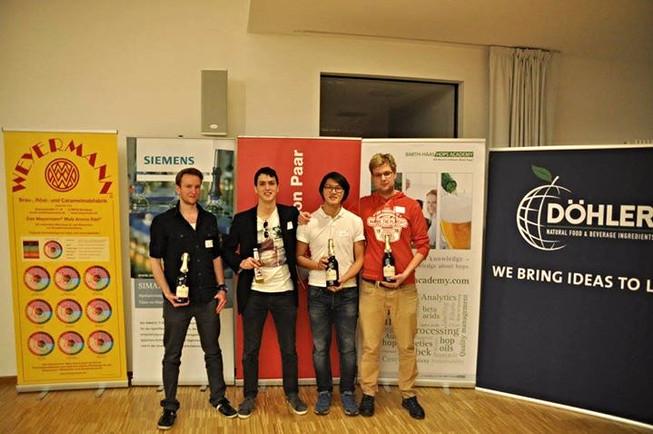 CEREVISIUM im Finale des Innovationswettbewerbs der TU München