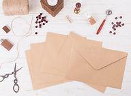 מעטפות קראפט חומות