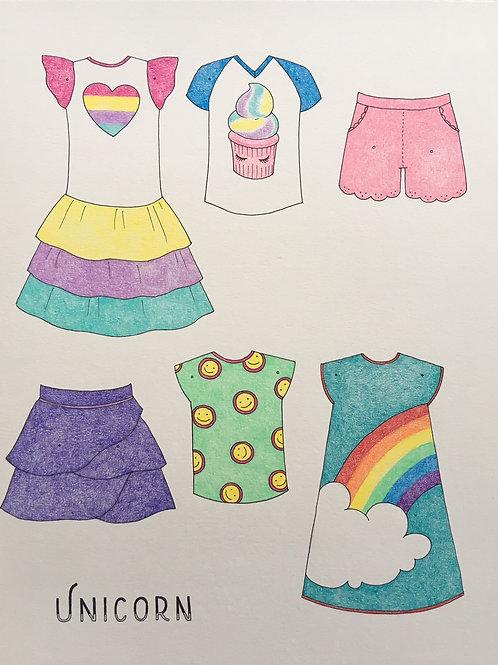 Pre-Made (Unicorn Outfits)
