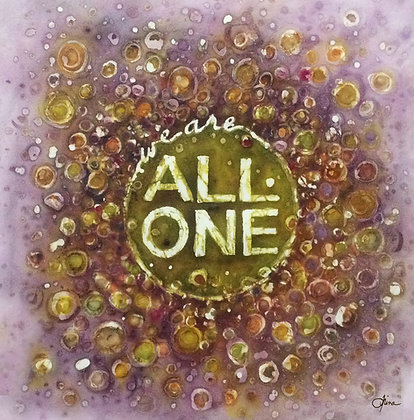 We are All One batik painting