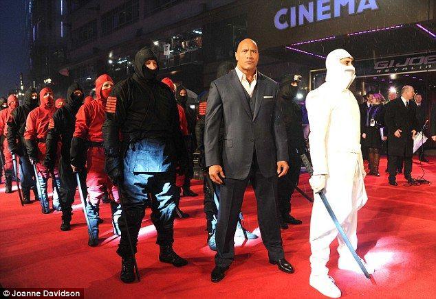 G.I Joe | Retaliation premiere white costume
