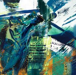 Ocre bleu vert opus 1