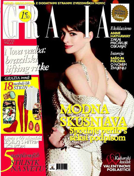 Grazia Slovenia Feature
