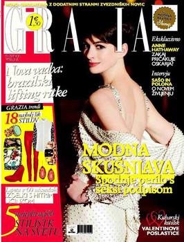Grazia Slovenia Feature