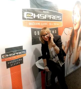 Working at Radio Express