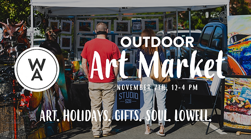 November Outdoor Art Market (FB Event Co