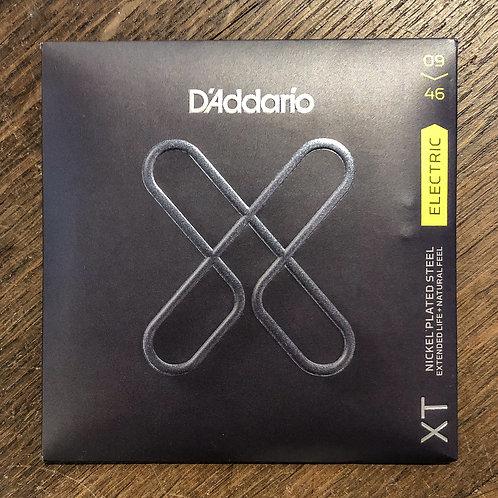 D'Addario XT 09-46 Nickel Plated Steel E-Gitarrensaiten Set
