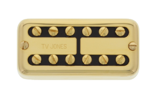 "TV Jones ""TV Classic"" Universal Neck Gold"