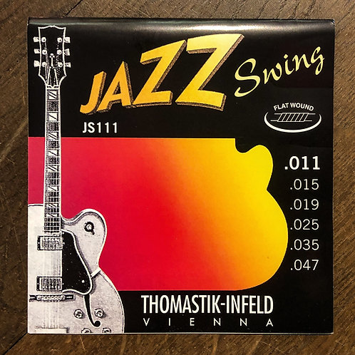 Thomastik-Infeld Jazz Swing 11-47 flat wound JS111 Saitensatz