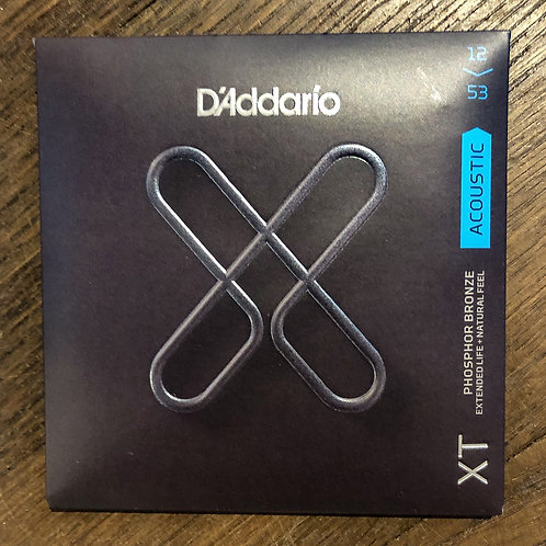D'Addario XT 12-53 Phosphor Bronze Acoustic Saitensatz
