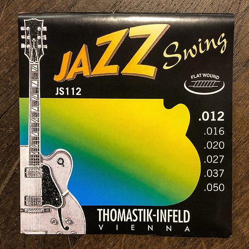 Thomastik-Infeld Jazz Swing 12-50 flat wound JS112 Saitensatz