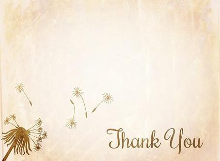 A Therapist's Gratitude