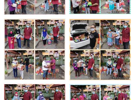 Food Donation Collaboration with Suriana Welfare Society