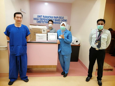 Delivery of Philips ventilator to HRPB