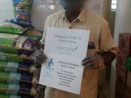 Ericsen Foundation & Suriana Welfare Society Food Aid Program Update