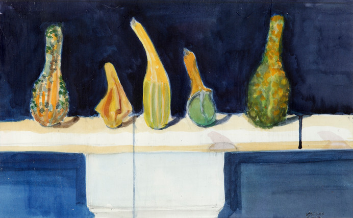 Five Standing Gourds