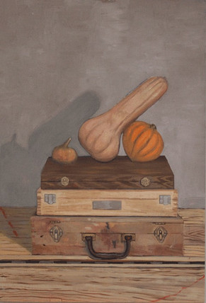 Gourds and Paint Boxes