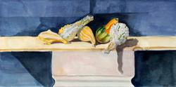 Five Reclining Gourds
