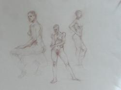Three Nudes