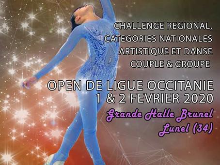 Open de Ligue Occitanie- Compétition de Patinage Artistique sur roulettes- 1er et 2 février 2020