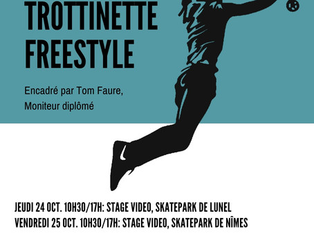 Stages Trottinette Freestyle