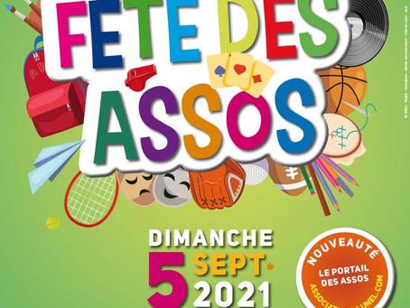 Fête des Assos 2021 - parc Jean Hugo à LUNEL