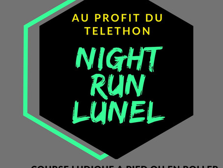 Night Run Lunel