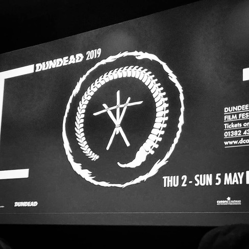 DCA Dundead 2019 Cinema Screen