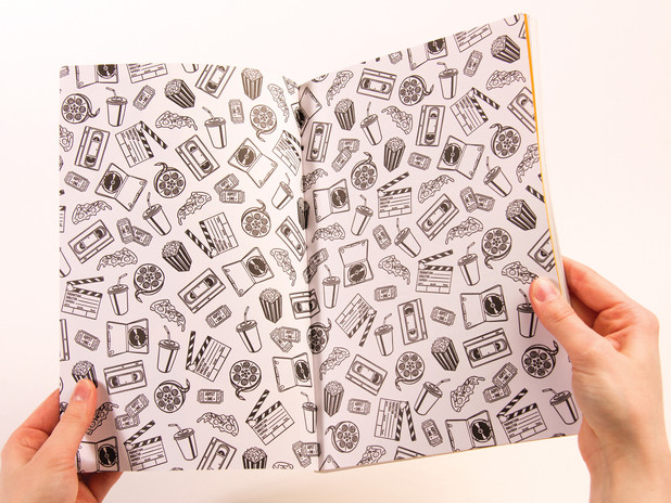 Shelf Heroes Issue E end papers