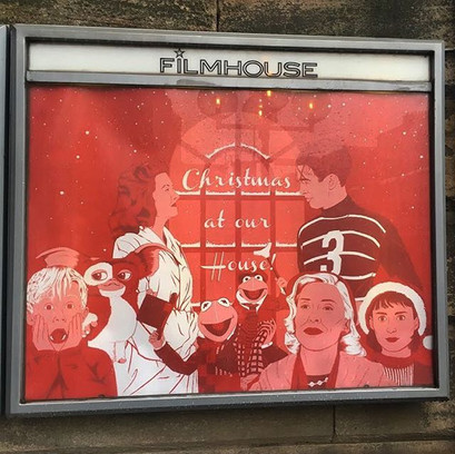 Filmhouse Cinema Christmas at Our House! 2018 quad poster